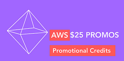 AWS $25 Amazon Web Services EDU-Credits