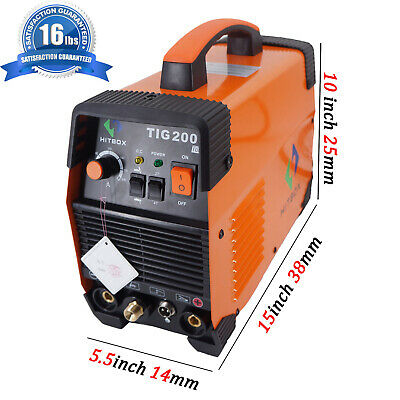TIG Welding Machine High Frequency 220V MMA 200 TIG Stick IGBT Inverter Welder