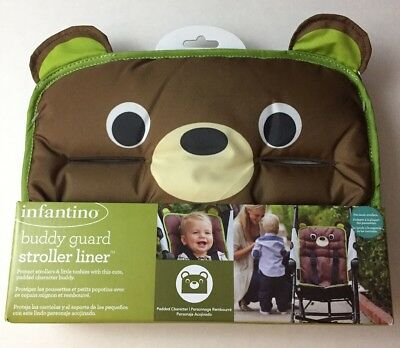 infantino Buddy Guard Stroller Liner, Protector, Bear, 2012, Polyester NEW
