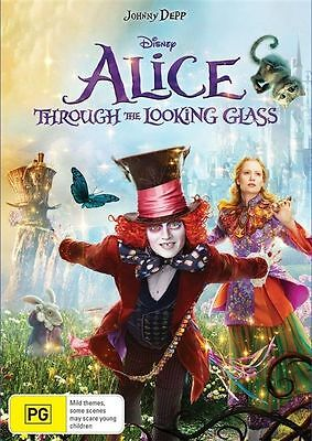 Alice Through The Looking Glass (DVD, 2016)