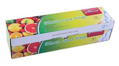 Greenour plastic food wrap,Foodservice Film with slide cutter,cling film 11