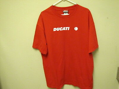 New, Ducati Motorcycles T-Shirt. Size XL.