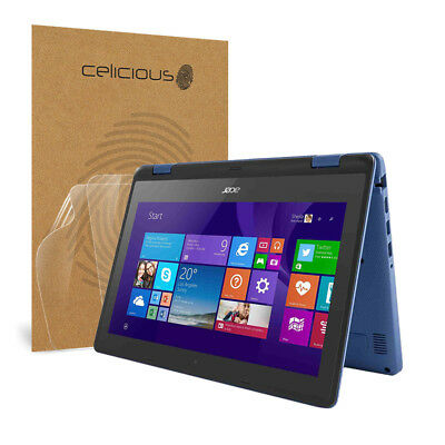 Celicious Vivid Acer Aspire R 11 Invisible Screen Protector [Pack of 2]