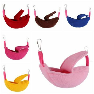 US Hammock for Pet Ferret Rat Hamster Parrot Squirrel Hanging Bed Toy House Nest