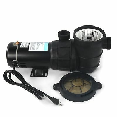 Super Above Ground 1.5 HP Swimming Pool Water Pump 115 Volt Motor Portable