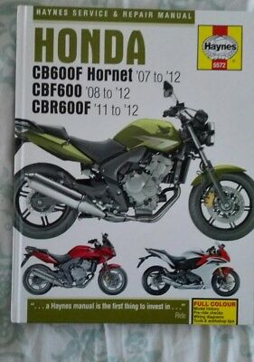 honda 1998 cb600f cb600fw hornet service repair manual