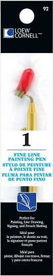 Loew-Cornell Fine Line Painting Pen to Draw, Paint or Write Perfect for Artist