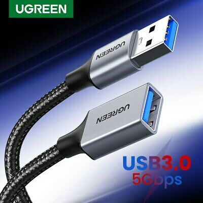 Ugreen USB 3.0 Cable Super Speed USB Extension Cable USB 2.0 Data Extender Lead