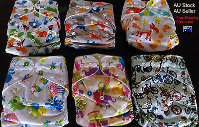 Cloth Nappies Newborn Toddler Nappy Washable Reusable Adjustable