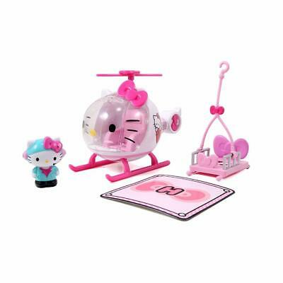 640f2ed0e Jada Toys Hello Kitty Emergency Helicopter Diecast Genuine License Product  Model