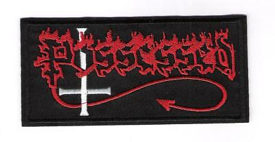 patch embroidered / écusson thermocollant Possessed