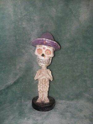 "Dead Of Dead Glitter Bobble Head 6.3"" tall"