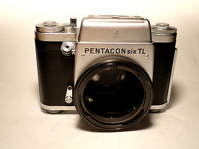 Pentacon Six TL Medium Format SLR Body -TESTED - Top Condition- Mittelformat 6x6
