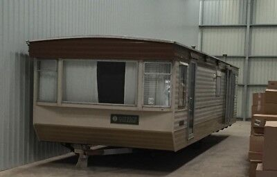 Static Caravan Coppice 34' two bedrooms disabled access doors