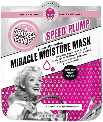 Soap & Glory Speed Plump Miracle Moisture Mask (25g)