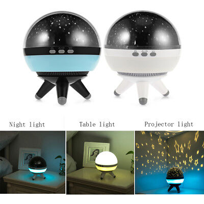 360 Degree LED Night Star Cosmos Night Lamp Night Lights Projection Projector