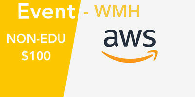 NON EDU - AWS / WMH $100 Amazon Web Services - Promo credits