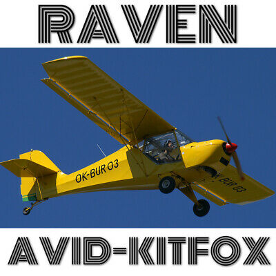Avid Flyer Replica Plans For Homebuild - 2 Seat Rotax 503 Stol Aircraft