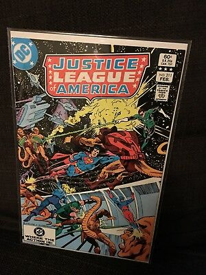 Justice League of America vol 1 Issue 211 DC JLA