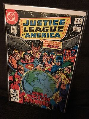 Justice League of America vol 1 Issue 210 DC JLA