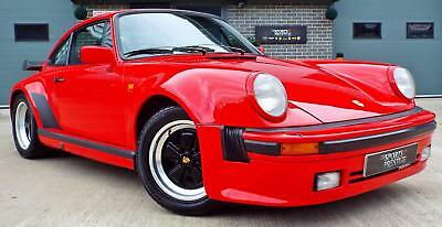 1981 Porsche 911 3.3 (930) Turbo LE Kit Guards Red Great Example!