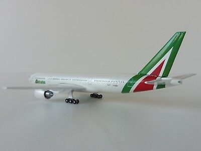 ALITALIA Boeing 777-200 1/500 Herpa 530118 777 NEW COLOURS  I-DISU