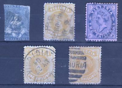 Selection of Victoria Issues - High C.V.