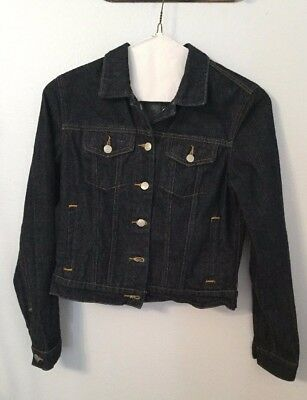 Ralph Lauren Girl's Polo Rhinestone Denim Jacket Size Medium