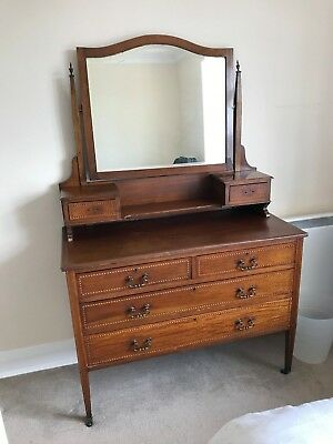 Antique Dressing Table circa late 19th, early 20th century