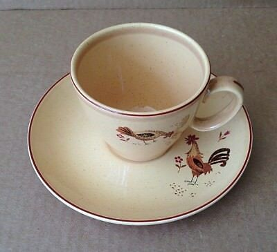 Vintage Harmony House Honey Hen Cup and Saucer