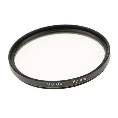 62mm Multi-Coated Glass UV Lens Filter Protection for SLR & DSLR Cameras New