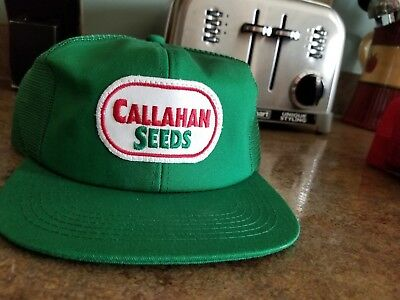 Vintage Callahan Seed Hat Made In The USA