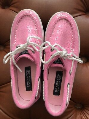 Sperry Top Sider Girls Pink Size 1M