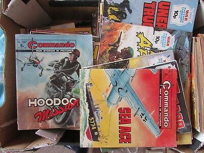 Collection of 120 Mostly War Picture Library & Battle Picture Library Comics