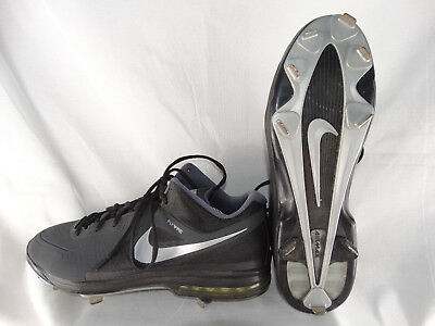 Nike MVP Elite Flywire Baseball Cleats 524957-001 schwarz-grau EU 49,5 US 15