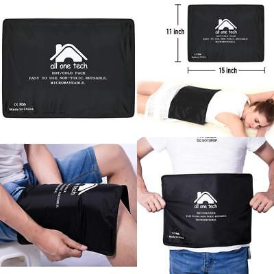 Hot  Cold Therapy Pad Reusable Gel Ice Pack Pain Relief Sports Injury X Large