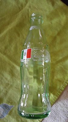 Vintage Coke Coca-Cola Classic bottle 1986 1991 USA World Cup 1994 Mexico