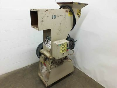 Ball & Jewell BP18 5HP Shred Buster Plastic Granulator Shredder 230/460 VAC