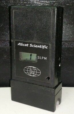 Alicat Scientific Flow Meter Portable Flow Meter SLPM PVU-5000-S PVU5000S