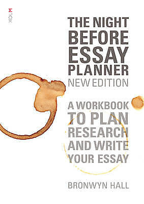 The Night Before Essay Planner (new edition)