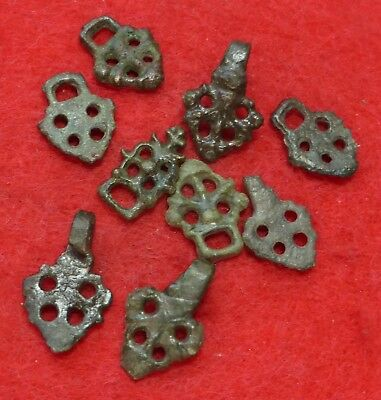 9 Bronze Small Medieval Mounts
