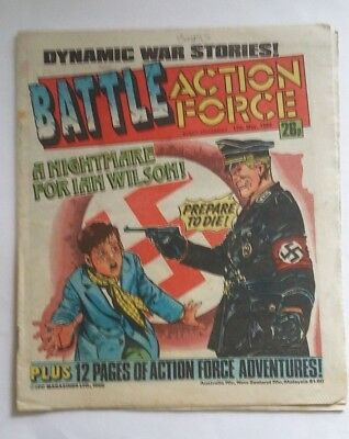BATTLE ACTION FORCE  comic 17th May 1986