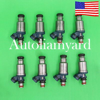 8 GENUINE Fuel Injectors 23250-50020 For 1992-1997 Toyota Lexus SC400 LS400 4.0L