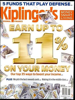 Kiplinger's Personal Finance June 2018 Top 35 Ways To Boost Your Income