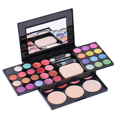 39Colors Eyeshadow Palette Blush Lip Gloss Makeup Cosmetic Set Kit Shimmer Matte