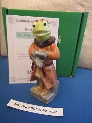 Beswick Toad Wind In The Willows Boxed & Certificate Wiw 2 Royal Doulton