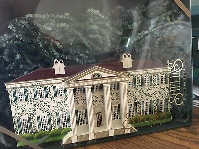 "Shelia's ""Gone With the Wind"" ""Twelve Oaks"" House Rare Wooden Figure"