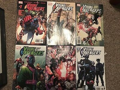 Young Avengers 1-12 + Special & 1-9 Childrens Crusade (1st Prints)