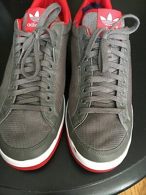 online store 52c38 190e9 Mens Gray, Red, and White Pre-Owned Adidas US Size 11.5