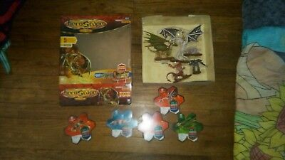 WOTC HeroScape Orm's Return - Heroes of Laur Expansion Set Box pre-owned